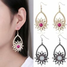 Fashion Women Earrings Retro Flower Tassels Dangle Charm Christmas Jewelry New