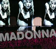 The Sticky & Sweet Tour [Digipak] by Madonna (CD, Apr-2010, 2 Discs, Warner Bros