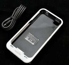CRACKED Works Mophie Juice Pack Air iPhone 4/4S Rechargeable Battery Case WHITE