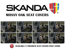 Mossy Oak Camo Tailored Front Seat Covers for Nissan Frontier from Coverking