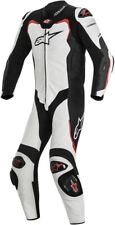 Alpinestars GP Pro One Piece Leather Suit / Black/White/Red - All Sizes