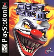 Twisted Metal III (Sony PlayStation 1, 1998) PS1 GAME, COMES COMPLETE