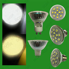 2x 3W Epistar SMD 5050 LED Spot Light Bulbs Cool Daylight or Warm White Lamps