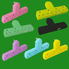 4 Way Coloured Cable Free Mains Extension Multi Sockets Adaptor 3 Pin UK Outlets