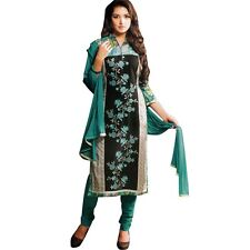 Designer Elegant Embroidery Cotton Salwar Kameez Readymade India-Venee-HR-2501-B