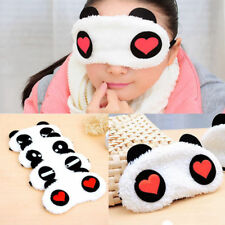 Soft Panda Sleep Goggles Creative Cute Cartoon Soft Shade Goggles Eye Mask