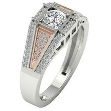 Solitaire Anniversary Ring SI1 G 0.90Ct Real Diamond 14K Gold Appraisal SZ 4-12