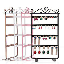 Jewelry Display Stand Holder Earrings Hangers 48 Hole Rack Organizers ShowcaseHU