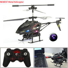 S977 3.5CH Camera Channel RC Metal Helicopter Gyro Radio Remote Control NEW LOT