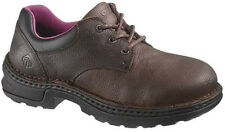 Wolverine W10200 Womens Betty Safety Toe Brown Work Shoe FREE 2DAY USA SHIPPING