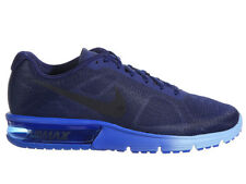 NEW MENS NIKE AIR MAX SEQUENT RUNNING SHOES TRAINERS LOYAL BLUE / HYPER COBALT
