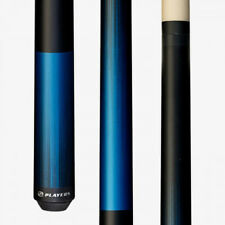 C702 BLUE PLAYERS Two Piece Pool Billiard Table Cue Stick & FREE 1x1 Soft Case