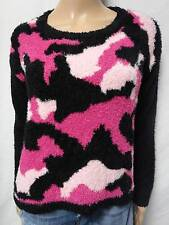 BEAUTIFUL ERIC+LANI INTENSE PINK COMBO L/S SUPER SOFT SWEATER SIZE-S,L (NWT)