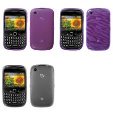 For BlackBerry Curve 8530 / 8520 TPU Rubber Skin Flexible Case Phone Cover