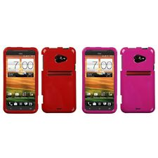 For HTC EVO 4G LTE Rigid Plastic Hard Snap-On Case Phone Cover