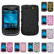 For BlackBerry Torch 9800 Diamond Diamante Bling Rhinestone Case Cover