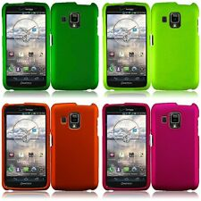 For Pantech Perception Rubberized Matte Snap-On Hard Case Phone Cover