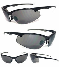BIFOCAL SAFETY READING SUNGLASSES GLASSES TINTED SUN READER UV Protect Z87.1+