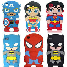 New Cartoon 3D Silicon Soft Cover Case For ipod touch4 5 Iphone5 5G 5S 4 4S 6 6S