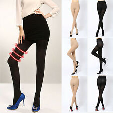 Warm Thick Footed Tights Stockings Women Pantyhose 150D Opaque