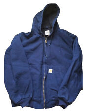 Carhartt J131 Duck Active Jac NAVY - Thermal Lined Jacket - Assorted Sizes Avail