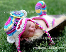 Toddler Baby Newborn Knit Costume Photography Photo Prop Hat Cap Set Outfit New