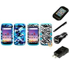 For Samsung S Blaze 4G T769 Hybrid TUFF IMPACT Phone Case Hard Cover Charger