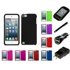 For iPod Touch 5th 6th Gen Hard Case Phone Skin Cover Charger Stylus