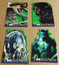 """SELECTION OF MEN IN BLACK (MIB) TRADING CARDS """"SINGLE ALIEN PROFILE CHASE CARDS"""""""