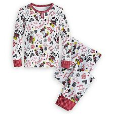 Disney Store Mickey and Minnie Mouse PJ PALS for Girls I Love Mickey Collection