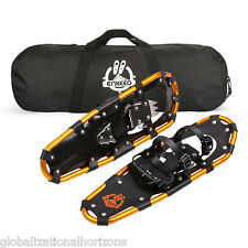 """NEW 21"""" 25"""" 30"""" Terrain Snow Sports Snowshoes Adjustable Bindings + Carrying Bag"""