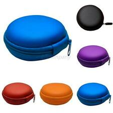 Portable Headphone Earphone Earbud Carrying Storage Bag Box Pouch Hard Case