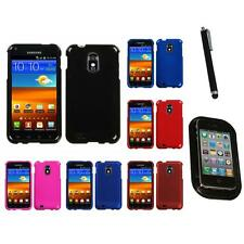 For Samsung Epic Touch 4G D710 Snap-On Hard Case Phone Skin Cover Mount+Pen