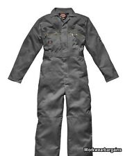 Dickies Boiler Suit Boilersuit Workwear Coverall Overalls Redhawk Zip Front