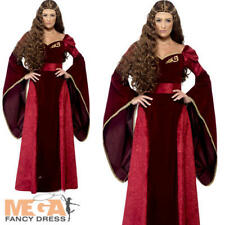 Medieval Queen Cersiei Game of Thrones Ladies Fancy Dress Womens Adults Costume