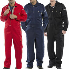 Click Boilersuit Heavy Duty Coverall Overalls Workwear Cargo & Knee Pad Pockets