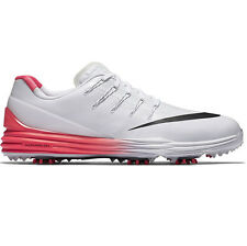 New 2016 Mens Nike Lunar Control 4 Golf Shoes White Red Black- Choose Your Size!