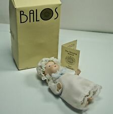 DOLL BABY PORCELAIN 1983 VINTAGE BALOS DOLLCRAFTER CLASSIC BOXED