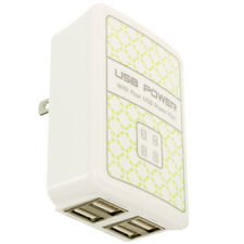 4 Port 3.1 Amp Fast Rapid Wall Home Travel AC Charger for Cell Phones