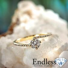 Women Diamond Engagement Ring 14k Solid Gold 1.42 CT VS/G-H Size 7 Enhanced