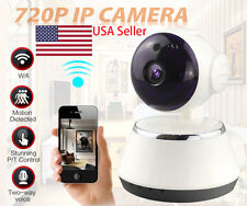 Wireless 720P Pan Tilt Network Security CCTV IP Camera WiFi Webcam Night Vision