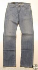 7 for all Mankind Slim Straight Leg Light - Medium Wash Slimmy Jeans Size 33