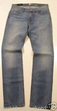 7 for all Mankind Slim Straight Leg Medium Wash Slimmy Jeans Size 33