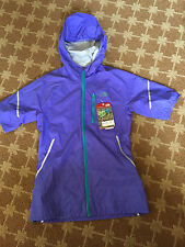 NWT North Face Womens Full Zip Starry Purple Flight Series SS Hooded Jacket - XS