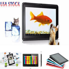 7 inch A33 Quad Core 512MB DDR3 Android 4.4 4GB Dual Camera Tablet PC Kids Gifts