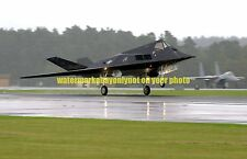 F-117A Nighthawk Stealth Fighter Color Photo Military USAF Aircraft F 117 2002