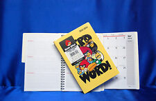 2013 - 2014 Monthly Weekly Angry Birds Academic Planner 5 x 8 Next Day Ship
