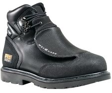 "TIMBERLAND PRO Men's 40000001 6"" Met Guard Black Full-Grain Steel Toe Work Boot"