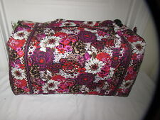 NEW WITH TAGS VERA BRADLEY ROSEWOOD LARGE DUFFEL DUFFLE