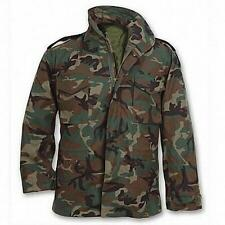 M-65 Field Jacket WOODLAND CAMO US Army Navy Marine Corps Military USMC USAF